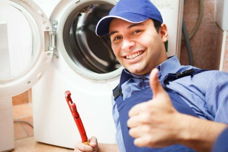 Reparación y mantenimiento de lavadoras, refrigeradores,