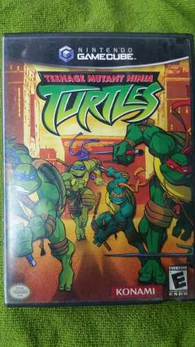 Teenage Mutant Ninja Turtles Game Cube