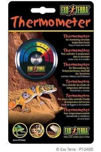 Termometro De Reloj Para Terrario Ret-o-meter