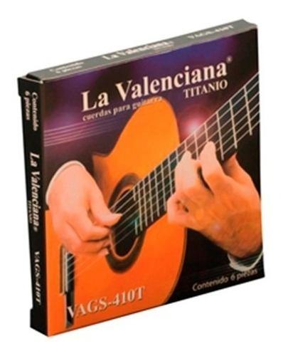 Encordado La Valenciana Para Guitarra Clásica Nylon Tit