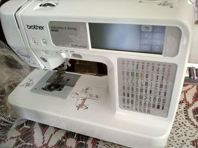 Maquina de bordar y coser computarizada Brother at your side