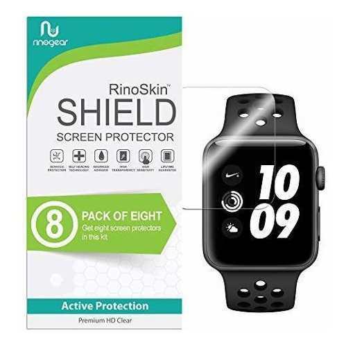 Rinogear Protector De Pantalla Para Apple Watch 4 Unidades 1