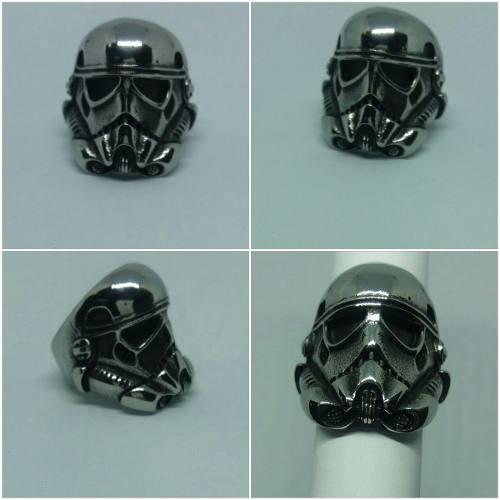 Anillo Acero Inoxidable 316l Stormtrooper Starwars