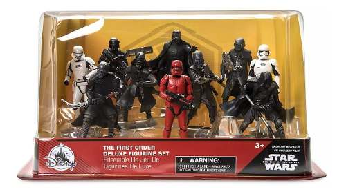 Disney Store Set Figurines Star Wars The First Order Deluxe