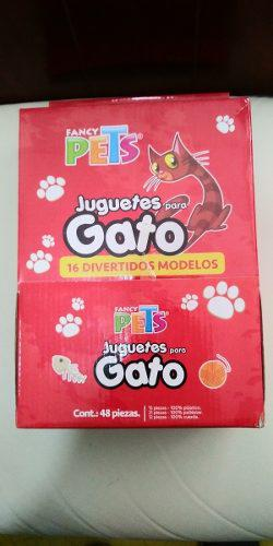 Fancy Pets Caja Con 48 Juguetes Para Gato Surtidos