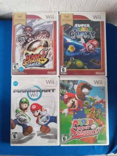Juegos De Mario Bros Para Wii O Wii U