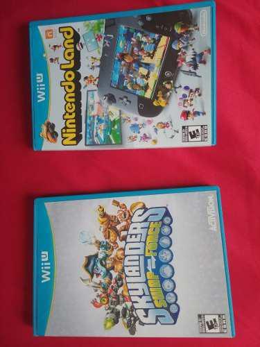 Juegos Para Nintendo Wii U *nintendoland Y Skaylanders *