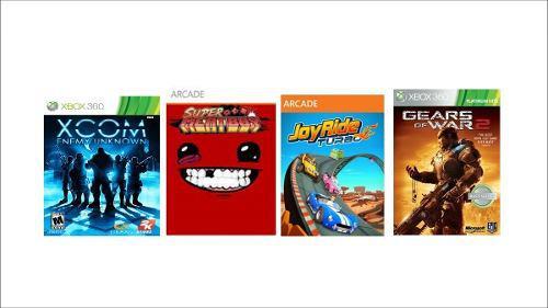 Juegos Para Xbox 360 Licencia Joy Ride, Gears, Super M Etc.