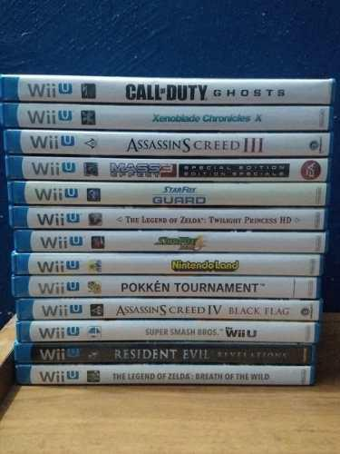 Juegos Wii U En Excelentes Condiciones
