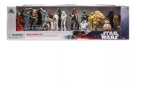 Mega Set 20 Figuras Star Wars Disney Store