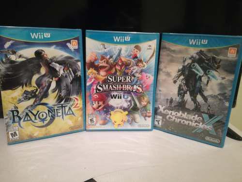 Pack De Juegos Nuevos Wiiu