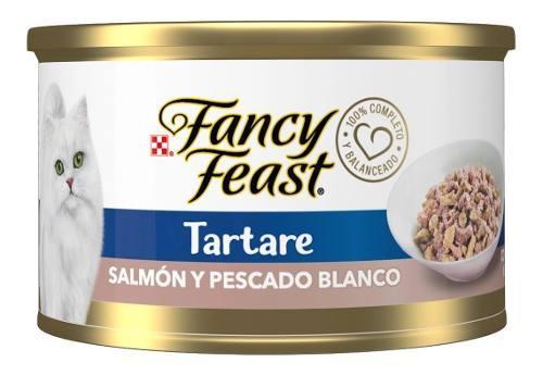 Purina Gato Fancy Feast Tartare Salmon Y Pescado Blanco 85g