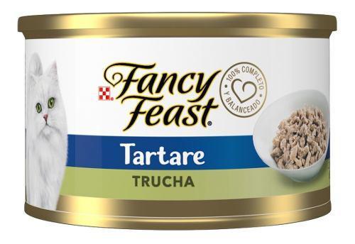 Purina Gato Fancy Feast Tartare Trucha Lata 85g