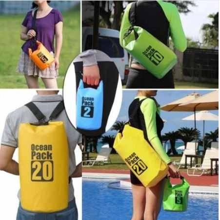 Set Bolsa Seca (15 L Y 2 L) Para Playa Deportes Extremos