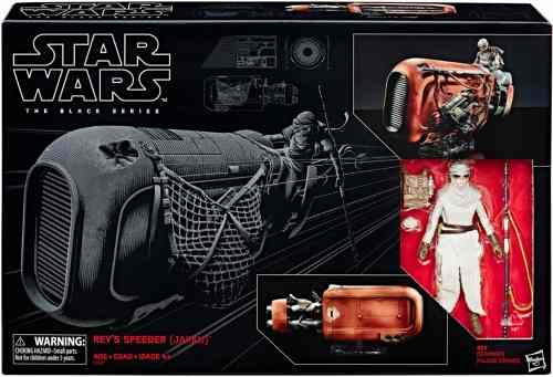 Set Speeder Rey Star Wars The Black Series Hasbro Nuevo Imp