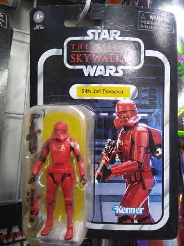 Starwars Vintage 3.75 Sith Jet Trooper The Rise Of Skywalker