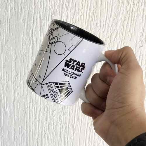 Taza Halcón Milenario Star Wars Ideal Para Regalo
