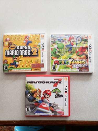 3 Juegos Para Nintendo 3ds