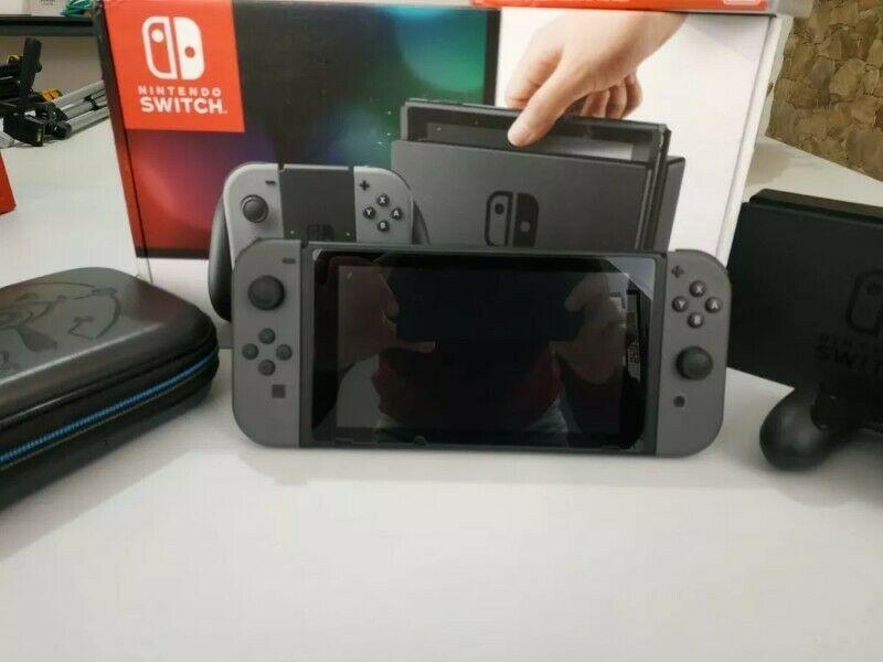 Consola Nintendo Switch Negro Y Gris Como Nueva Xalapa