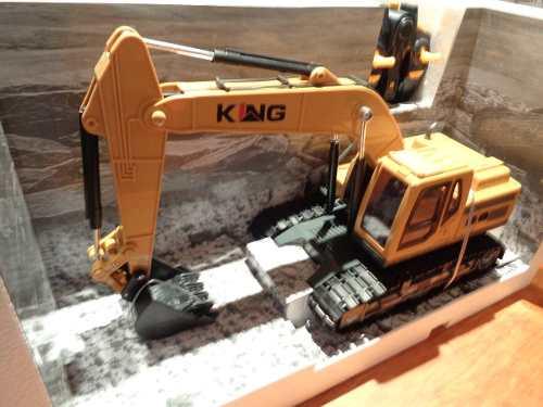 Excavadora De Radio Control Con Luz Y Sonido Xm-l