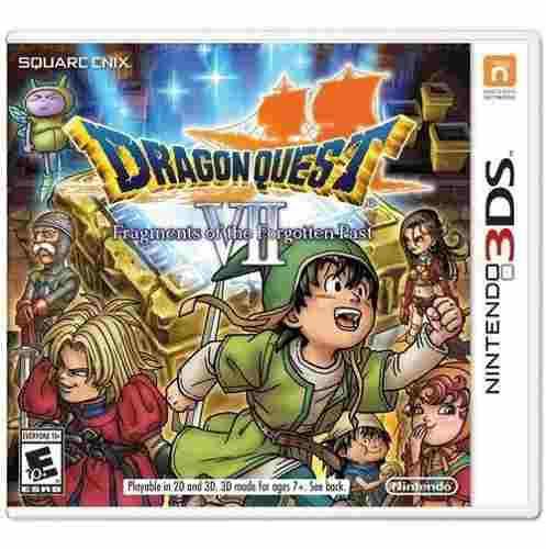 Juego Dragon Quest Vii Para Nintendo 3ds Nuevo Y Sellado