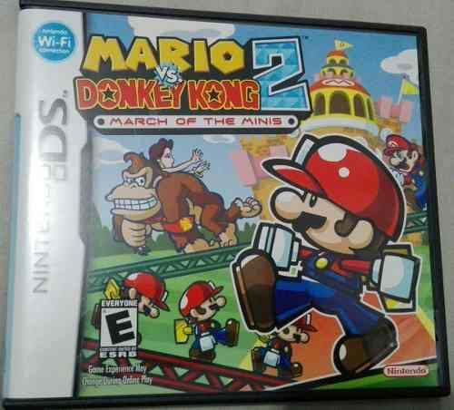 Juego Mario Vs Donkey Kong 2 Nintendo Ds Usado Xgx