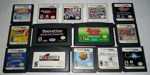 Juegos Nintendo Ds/3ds Y Game Boy Advance (gba)