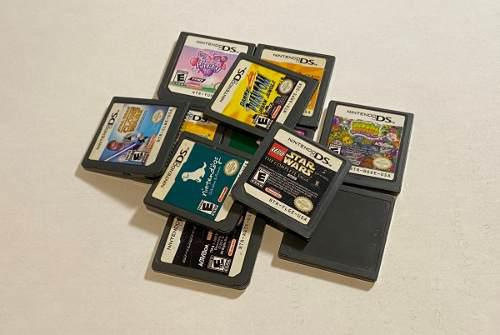 Lote De 11 Juegos Para Nintendo Ds, 2ds Y 3ds. Negociable