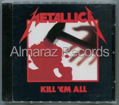 Metallica Kill'em All Cd