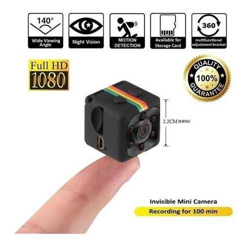 Mini Camara Espia Sq11 Vision Nocturna Full Hd Movimiento