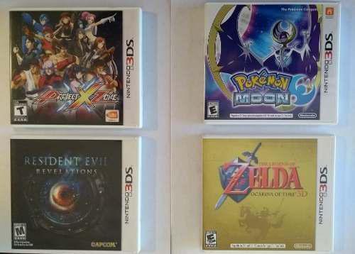 Pack Juegos Nintendo 3ds Resident-pokemon-zelda-project Zone