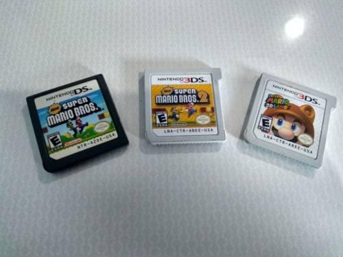 Pack Juegos Super Mario Para Nintendo 3ds