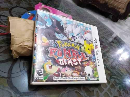 Pokémon Rumble Blast Juego Para Nintendo 3ds, 2ds