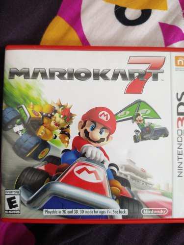 Video Juego Mario Kart 7 Para Nintendo 3ds