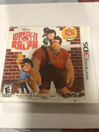 Wreck- Italia Ralph Juego Para Nintendo 3ds