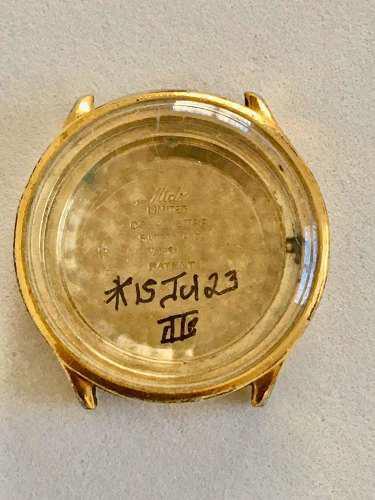 Caja Para Reloj Mido Chapa De Oro