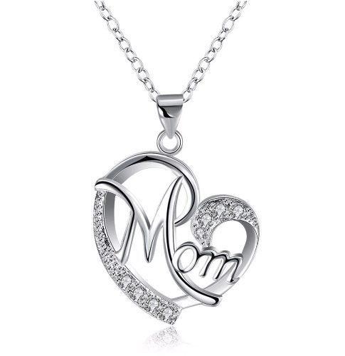 Collar Plata 925 Cristales Swarovski Regalo Mama Navidad Mom