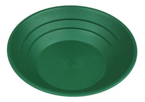 Plato Batea Oro Gold Pans Panning Gambusino Verde 10 Pulgada