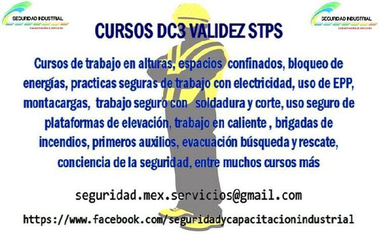 capacitacion DC3, cursos con DC3, validez STPS, cursos