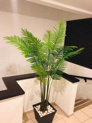 Hermosa Palma Árbol Artificial 1.90m No Incluye Maceta.