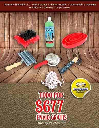 Kit De Limpieza Para Caballo