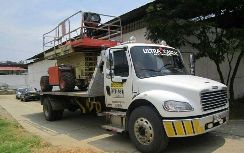 Renta de Plataformas, montacargas y grúas en Hidalgo