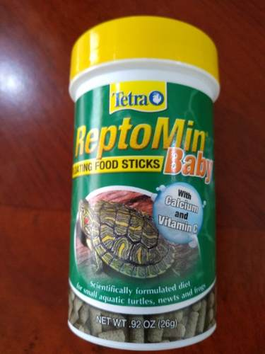 Tetra Reptomin Floating Food Sticks Baby 26 G. Alimento
