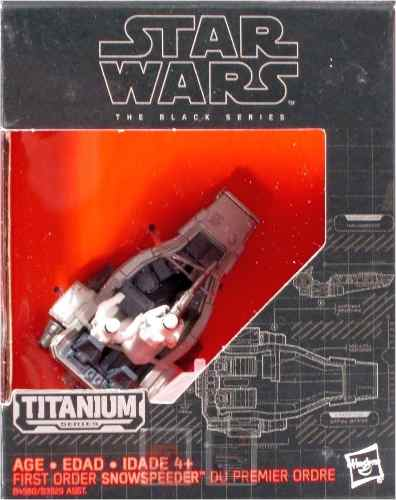 Titanium Series Star Wars First Order Snowspeeder