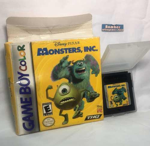 Juego Gameboy Repro Monster Inc Graba Nintendo