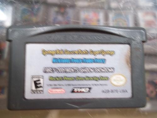 Multi Juegos De Nickelodeon Game Boy Advance Gba