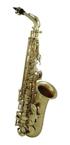 Saxofón Alto Con Tonalidad Eb Mástil Rnd Roy Benson As-302