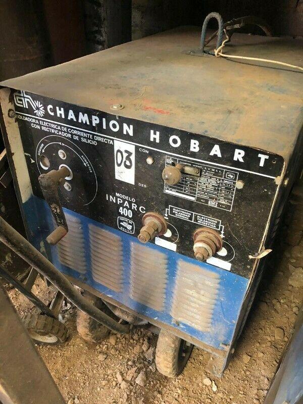 Venta de Planta De Soldar Marca Champion Hobart Mod. Inparc