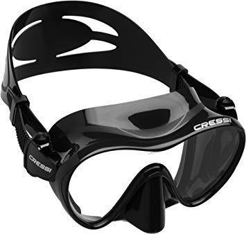 Visor Frameless Cressi Buceo, Snorkeling Y Apnea Negro