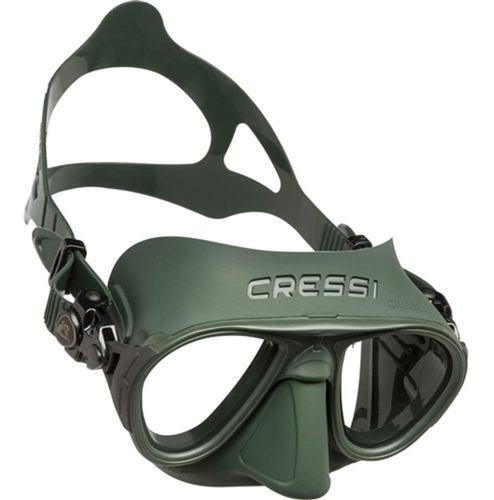Visor Máscara Para Apnea Calibro Verde / Verde Cressi